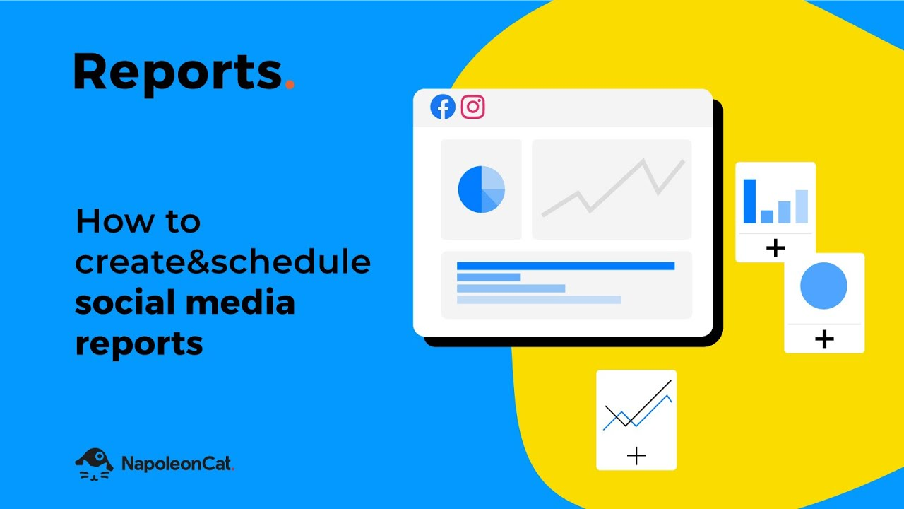Reports - How to create an in-depth social media report in less than 1 minute with NapoleonCat