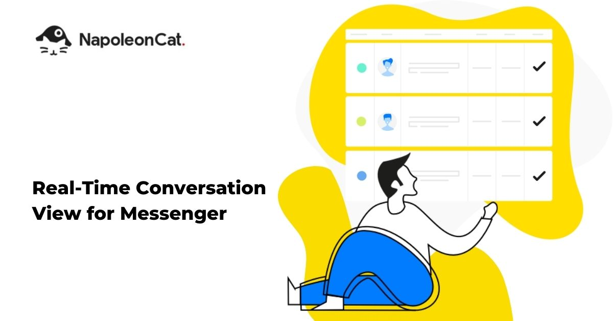 real-time conversation view for Messenger in NapoleonCat