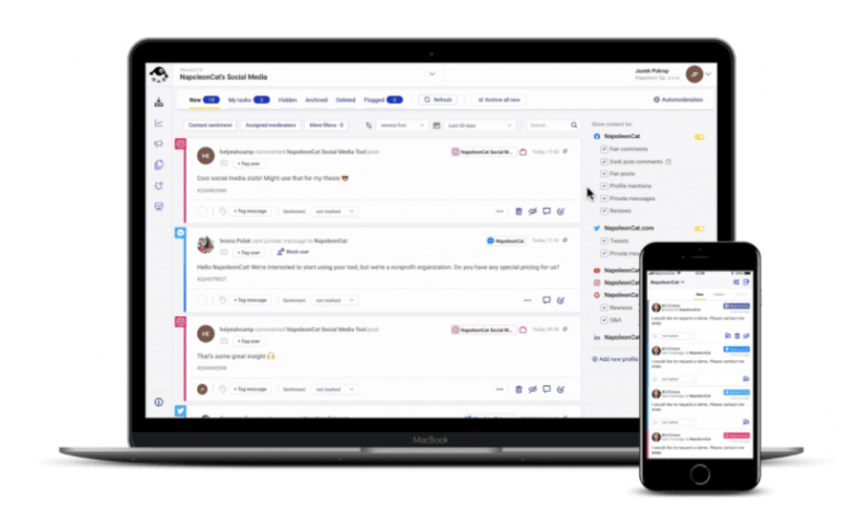 Manage all your Facebook Ads comments from one place