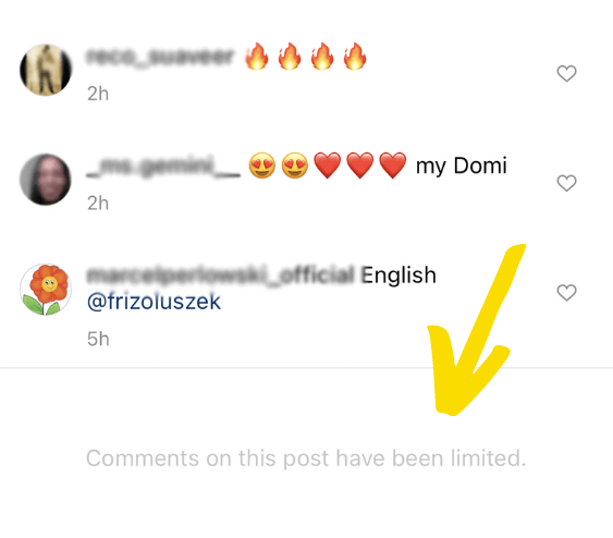 How to hide comments on Instagram - comments on this post have been limited