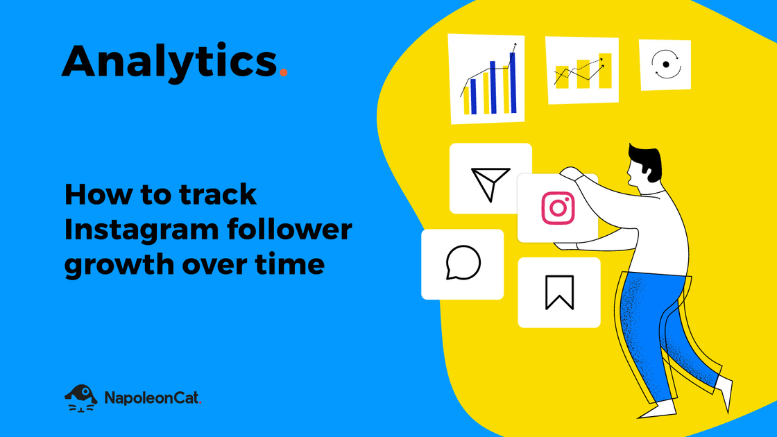 How to track Instagram follower growth over time with NapoleonCat