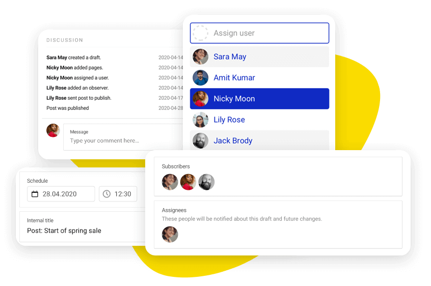 Make content creation a team effort