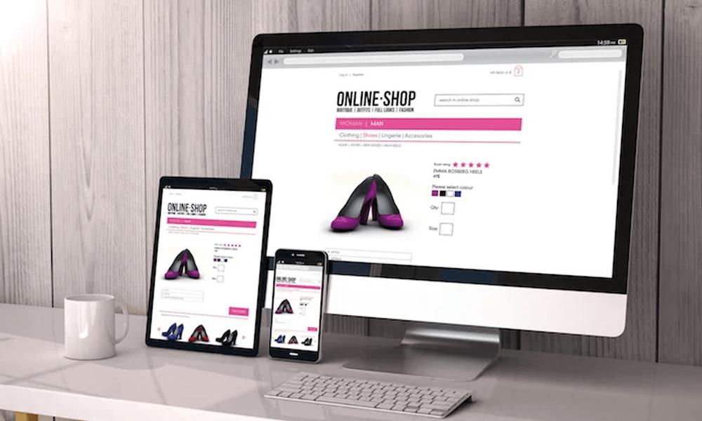 eCommerce marketing tips - ecommerce site