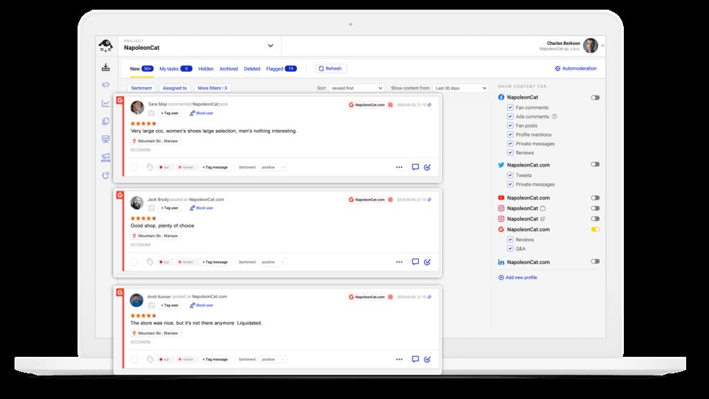 Google My Business - Social Inbox