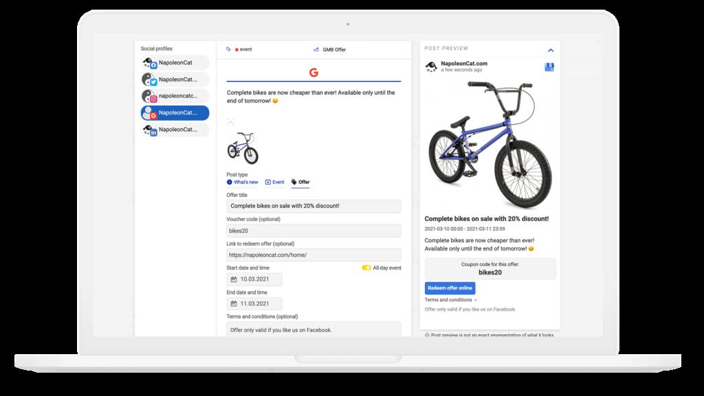 Google My Business post scheduler
