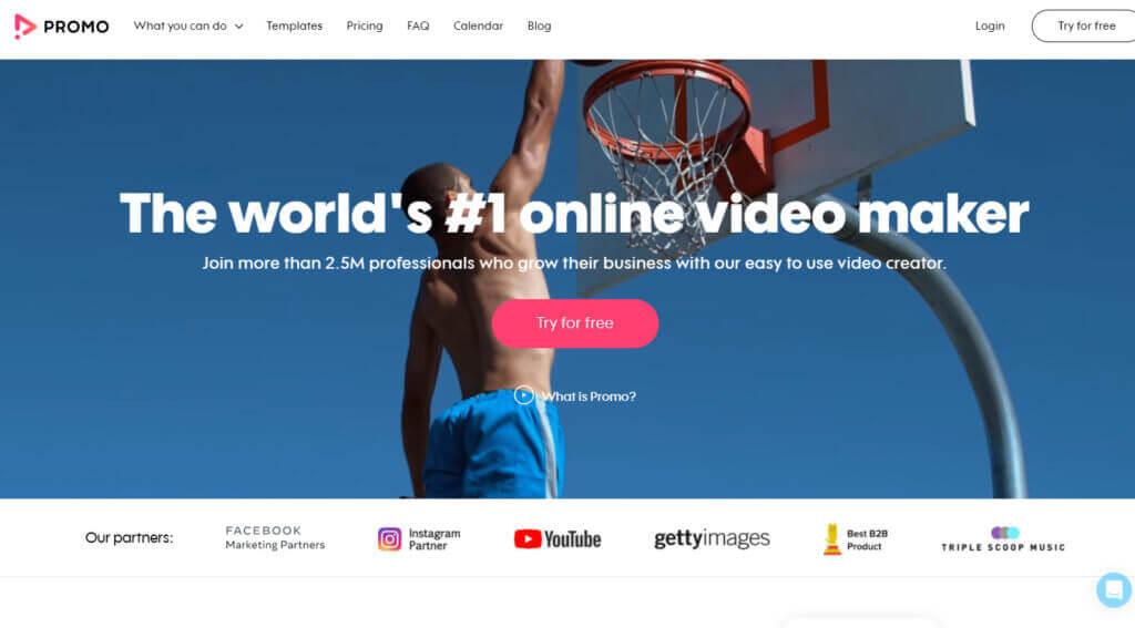 Promo, video editing tool