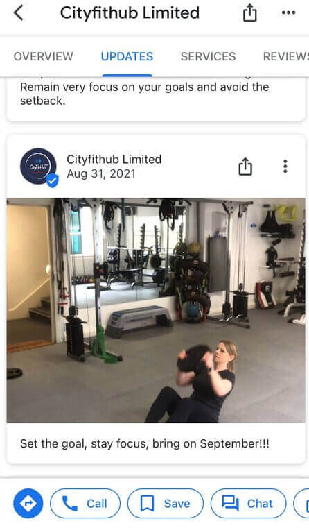 How to post on Google My Business - cityfithub